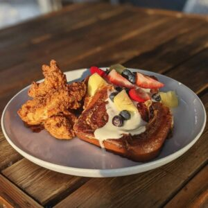 Meet the Moon's Chicken and French Toast