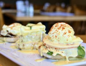 Eggs Benedict Sampler Breakfast and Brunch